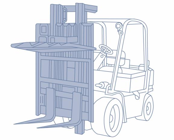 Стабилизатор груза для автопогрузчика