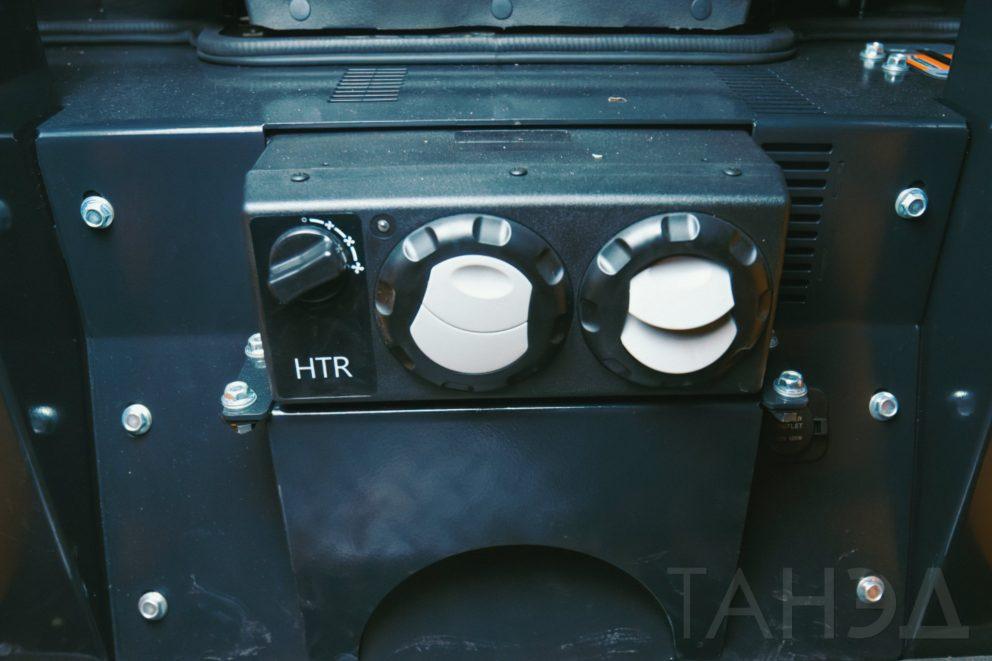 Отопитель кабины Bawoo M50