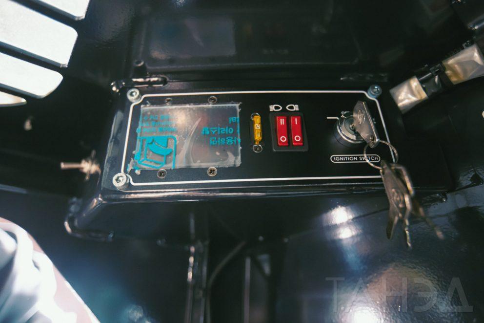 Панель управления Bawoo M50