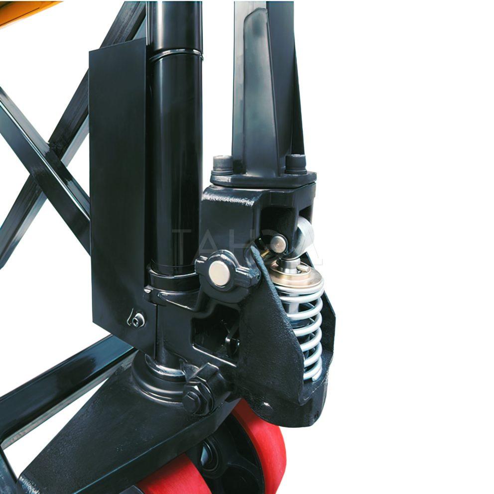 Узел телескопического подъема тележки JF1000